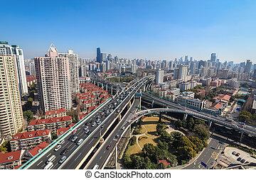 city highway junction