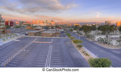 Las Vegas Time Lapse Panning - High definition time lapse...