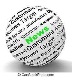 News Sphere Definition Meaning Global Headlines Or International News