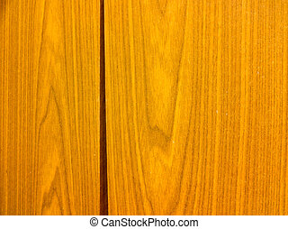 Wooden furniture detail.