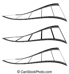 photo film strip twist
