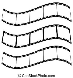 photo film strip warp