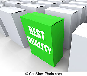 Best Quality Box Represents Premium Excellence and...
