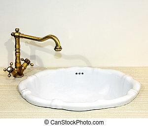 Rustic faucet
