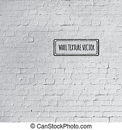 Vector Grunge brick wall texture - Vector photorealistic...