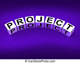 Project Blocks Show Scheme Venture and Task - Project Blocks...