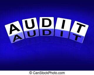 Audit Blocks Refer to Investigation Examination and Scrutiny...