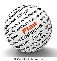 Plan Sphere Definition Means Planning Or Objective Managing