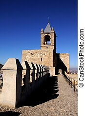 Castle keep tower, Antequera. - Castle keep tower (torre del...