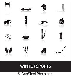 winter sports eps10