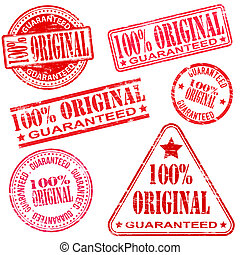 100 Percent Original Stamps