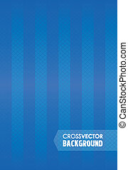 cross line blue background