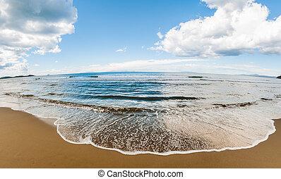 Tuscany Beach of Punta Ala, Italy