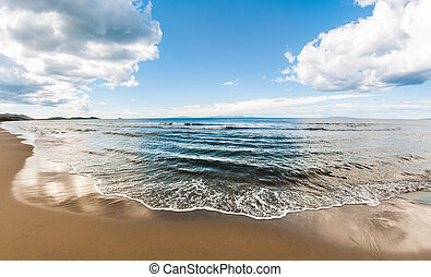 Tuscany Beach of Punta Ala, Italy