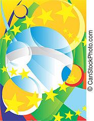 fundo Brazil - Tropcal vetor, brasil, imagem, copa