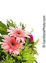 Flower arrangement - Close up of floral arrangement with...