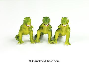 dinosaurs:, 玩具,  t-rex