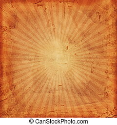 vintage background with rays - abstract vintage background...
