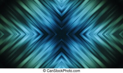 Blue Green X Cross Loop - Blue Green X Cross Looping...