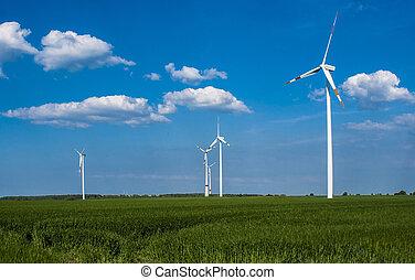 Wind Turbine in Nord Gerrmany