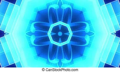 VJ psychedelic geometric loop XR7