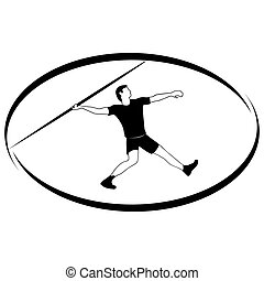 Athletics Javelin throwing - Summer kinds of sports...