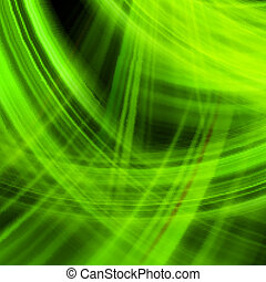 Green energy jet background. EPS 10 vector file included