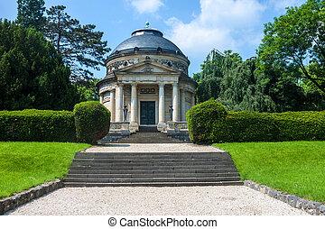 Carstanjen mausoleum in Bonn, Germany