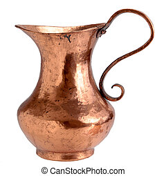 Copper Pitcher - Hammered Copper Water Pitcher