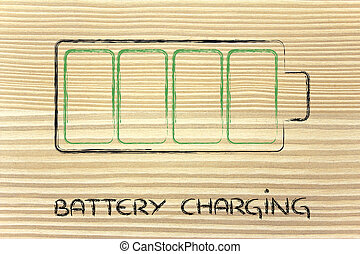 phone or electronical device battery charging design -...