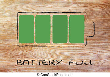 phone or electronical device full battery design - design of...