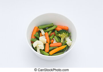 Vegetables in a Bowl - Healty Vegetables is a bowl,...