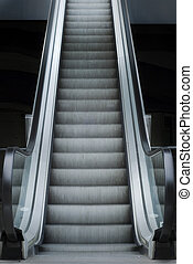 Escalator Stairway to your carrier - Escalator going up
