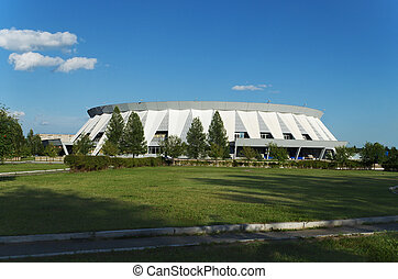 Palace of ice sports in Russia. - Palace of ice sports,...