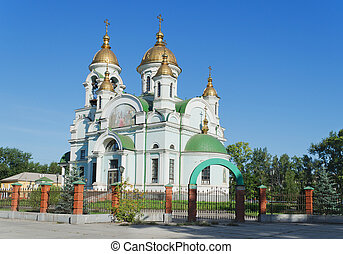 Temple in the city of Nizhny Tagil. Russia