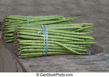 Moringa oleifera or drumstick vegetable - Moringa oleifera...