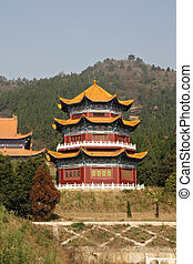 Chinese pagoda - Chinese traditional architectural pagoda
