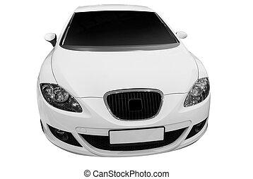Auto, weißes