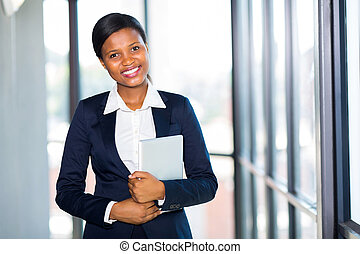 young african american businesswoman portrait