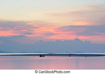 ko samui - Sunset seascape Ko Samui, Thailand