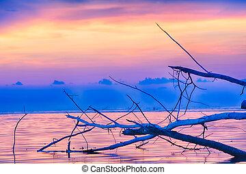 ko samui - Sunset seascape Ko Samui, Thailand.