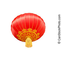 Isolated chinese lantern worm eye view
