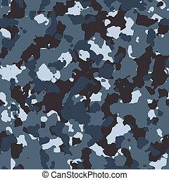 blue shadow vector seamless camo