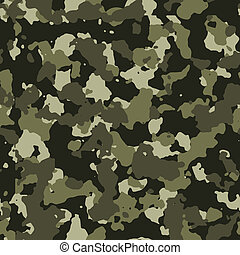 Jungle seamless camo vector