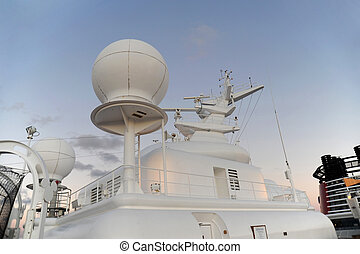 Navigational equipment - Cruise ship modern navigational...