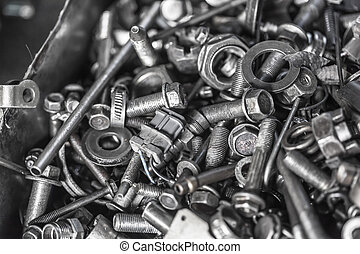 hardware - bolts, nuts, washers, screws
