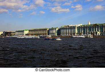 Saint Petersburg - Neva River, Saint Petersburg, Russia
