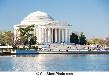 Thomas Jefferson Memorial building Washington, DC