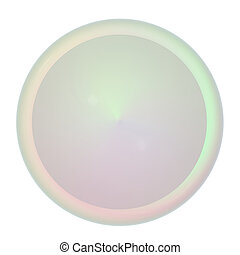 button 3d render