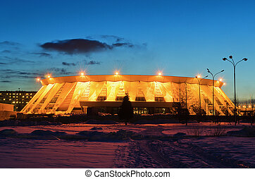 Palace of ice sports in Russia - Palace of ice sports, house...